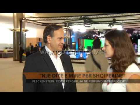 Knut Fleckenstein: Një ditë e mirë për Shqipërinë - Top Channel Albania - News - Lajme