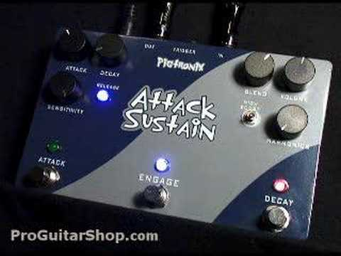 Pigtronix ADSR Attack Sustain Compressor Pedal