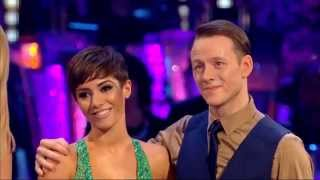 Frankie Bridge & Kevin Clifton - Strictly Come Dancing - 27th September 2014