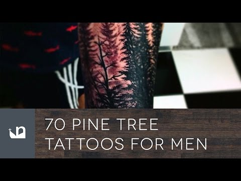 70 Pine Tree Tattoos For Men