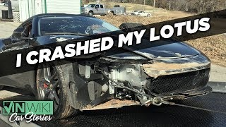 I crashed my Lotus Evora at my first track day
