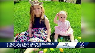 Girl killed after running in front of SUV in Bellevue on Easter