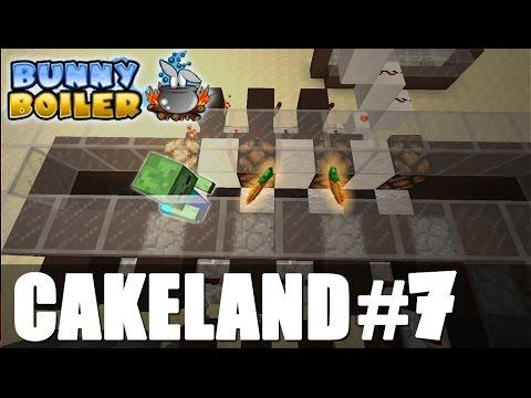 CakeLand#7: Мини-игра Казино в Энд Мире! Bunny Boiler mini-game!