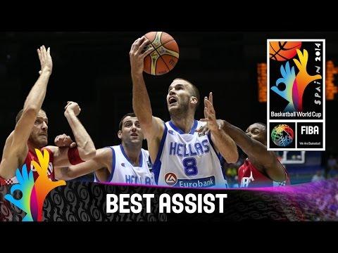Greece v Croatia - Best Assist - 2014 FIBA Basketball World Cup