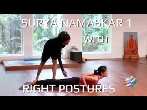 Surya Namaskar With Right Postures video