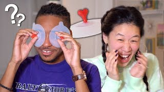 My Husband Reacts To Weird Korean Items!