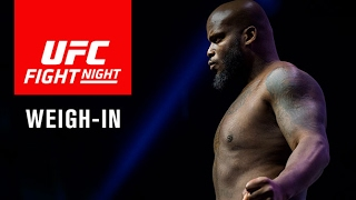 Suivez la pesée de l'UFC Fight Night 105 en direct à 22h