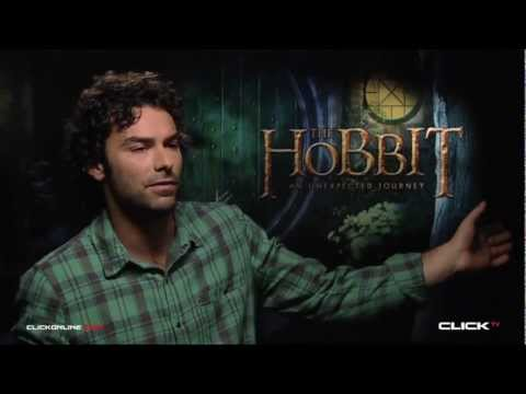 The Hobbit: An Unexpected Journey Interview - Aidan Turner