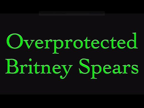 Britney Spears - Overprotected (lyric Video) video