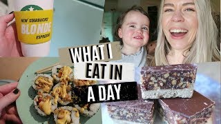 WHAT I EAT IN A DAY | MUM OF FOUR | Kate Bridge