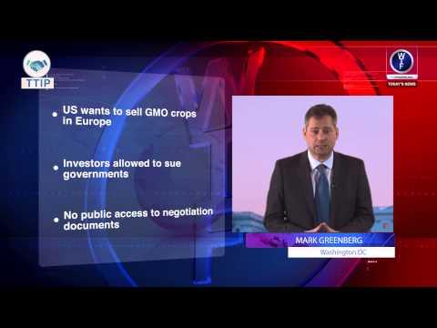BREAKING NEWS : TTIP a major change in EU/US relations