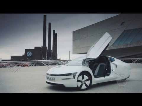 Volkswagen XL1 Review - Driving VW's ÜberHybrid in Germany