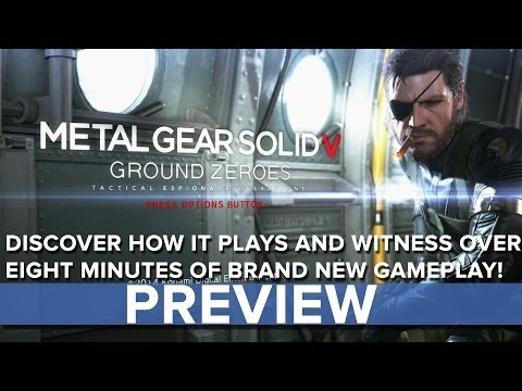 Metal Gear Solid 5: Ground Zeroes - Eurogamer Preview