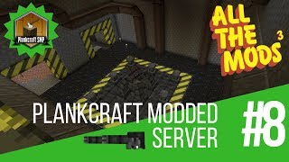 A FIGHT TO THE DEATH!: Plankcraft Modded Server: JoeRilla Episode 8