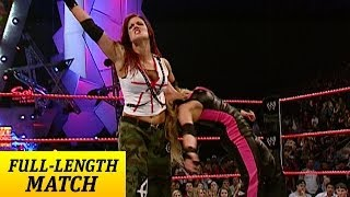 FULL-LENGTH MATCH - Raw - Trish Stratus vs. Lita - Women's Championship Match