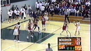 1998 Tennessee vs  Wisconsin