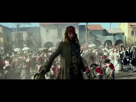 Забавный отрывок из фильма Пираты Карибского моря 5 (1 часть)