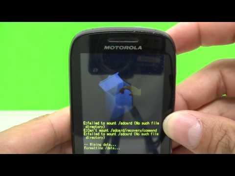 Hard Reset Motorola XT316 / XT317    Como Formatar. Desbloquear. com Problemas