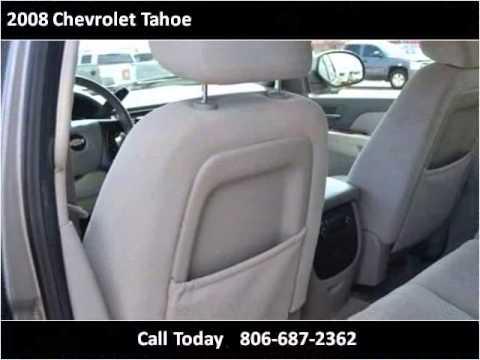 2008 Chevrolet Tahoe Used Cars Lubbock TX