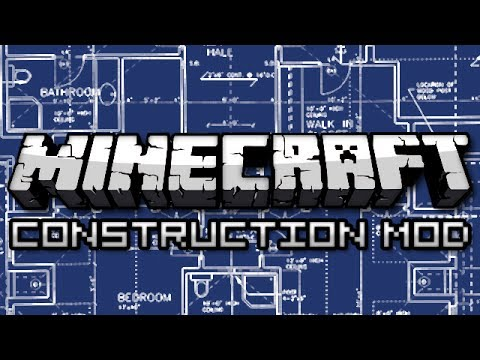 Minecraft: Best House Ever! (Construction Mod Showcase)