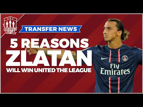 5 reasons Zlatan Ibrahimović will win Manchester United the Premier League