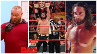 WWE Monday Night Raw 23rd September 2019 - Aj Styles Winning Universal Title ? WWE Raw Highlights !