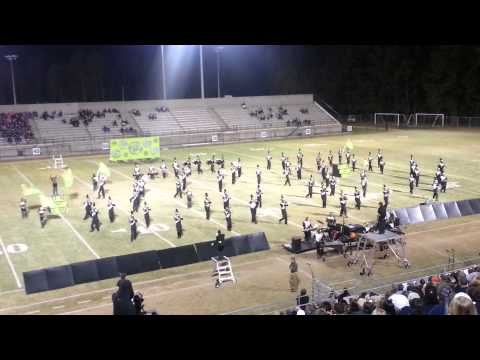 2012 State Championship -  Hartsville High School Red Regime Marching Band