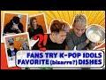 Fans Try K-Pop Idols Favorite (bizarre?) Dishes With Soju!