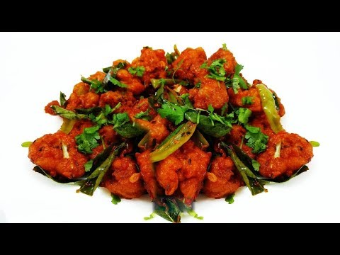 Gobi 65 Recipe | Easy And Crispy Gobi  65 Recipe | Gobi Recipes | Live food