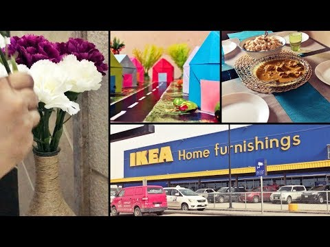 Weekend Vlog / Lazy recipes / Shopping at IKEA / Craft for Armaan