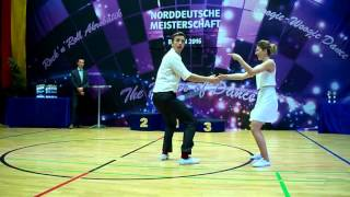 Simone Wanninger & Matthias Bergmann - Norddeutsche Meisterschaft 2016