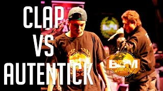 BDM Gold 2015 / 8º de Final / Autentick VS Clap Psycho