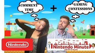 Comment Time: YOUR Gaming Confessions - Nintendo Minute