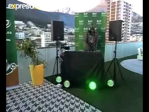 Frisco and DJ Black Coffee interview Live on Expresso: 20.04.2012 Part 2