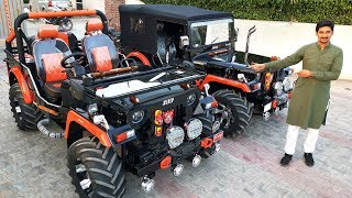 SUPER MODIFIED JEEPS | RAJESH JAIN MOTOR | FOR ORDER CONTACT @ 9035785000