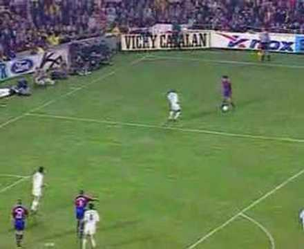 Barcelona-Real Madrid Luis Figo Score Goal Video