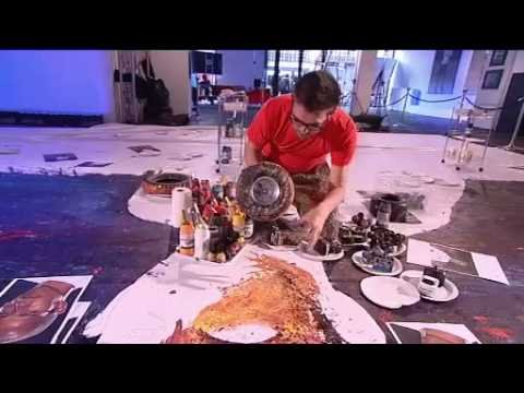 Ian Cook and Lewis Hamilton Make Driving a Work of Art - Day 2