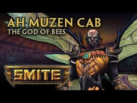 SMITE - God Reveal - Ah Muzen Cab, God of Bees