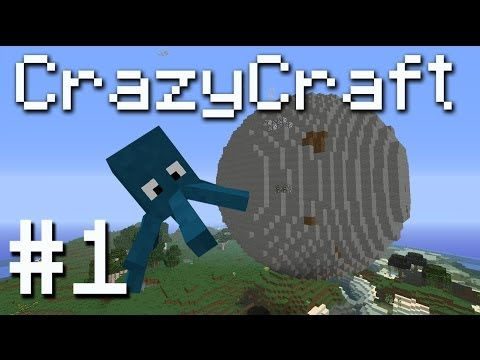 CrazyCraft Minecraft Modpack - Anti Gravity Squids! #1
