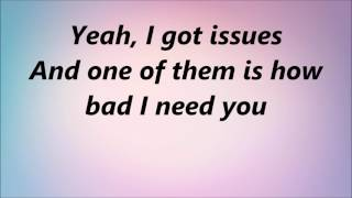 Julia Michaels - Issues (Lyrics)