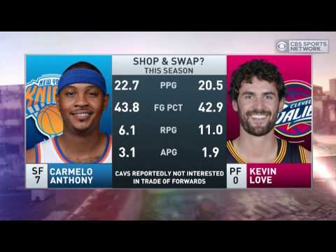 Boomer and Carton: Knicks offer Melo to Cavs