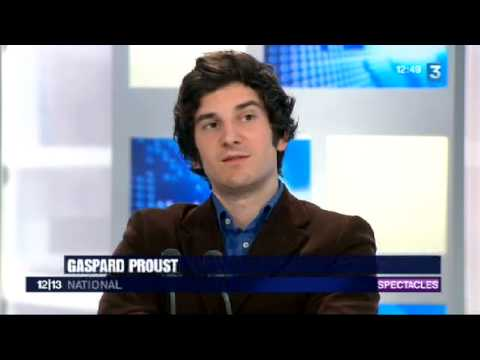 Gaspard Proust au journal 12/13 sur France3