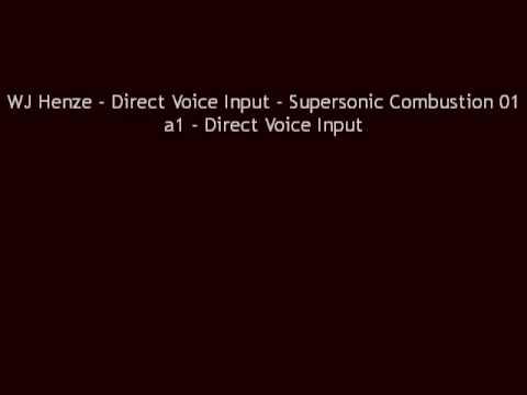 WJ Henze - Direct Voice Input