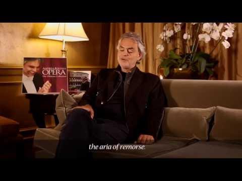 Andrea Bocelli – ADDIO, FIORITO ASIL – Madama Butterfly (Commentary)