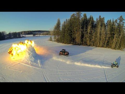 Gopro: Ice Drift video