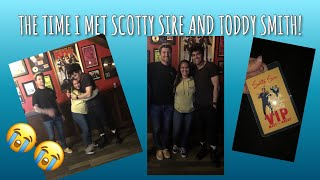 THE TIME I MET SCOTTY SIRE AND TODDY SMITH