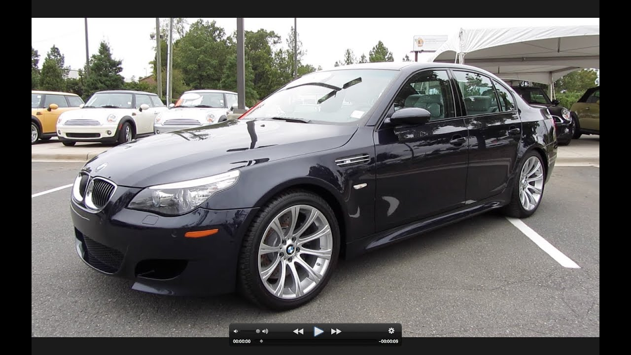 2008 bmw m5 start up exhaust and in depth tour youtube. Black Bedroom Furniture Sets. Home Design Ideas