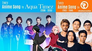 Download Lagu Every Anisong by Aqua Timez (2006-2015) + Orange Range (2003-2008) Gratis STAFABAND