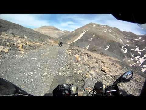F800GS off road: Crete - Discending the &quot;Black cliffs&quot;, White Mountains