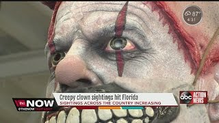Report of possible creepy clown sighting near Largo High School